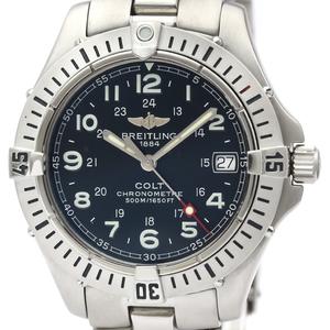 Breitling Colt Quartz Stainless Steel Men's Sports Watch A74350