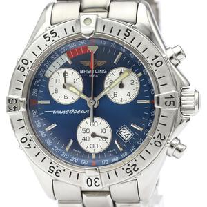 Breitling Transocean Quartz Stainless Steel Men's Sports Watch A53340