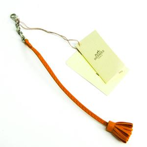 エルメス(Hermes) しおり・ブックマーク カルメンチータ17 327110A オレンジ レザー