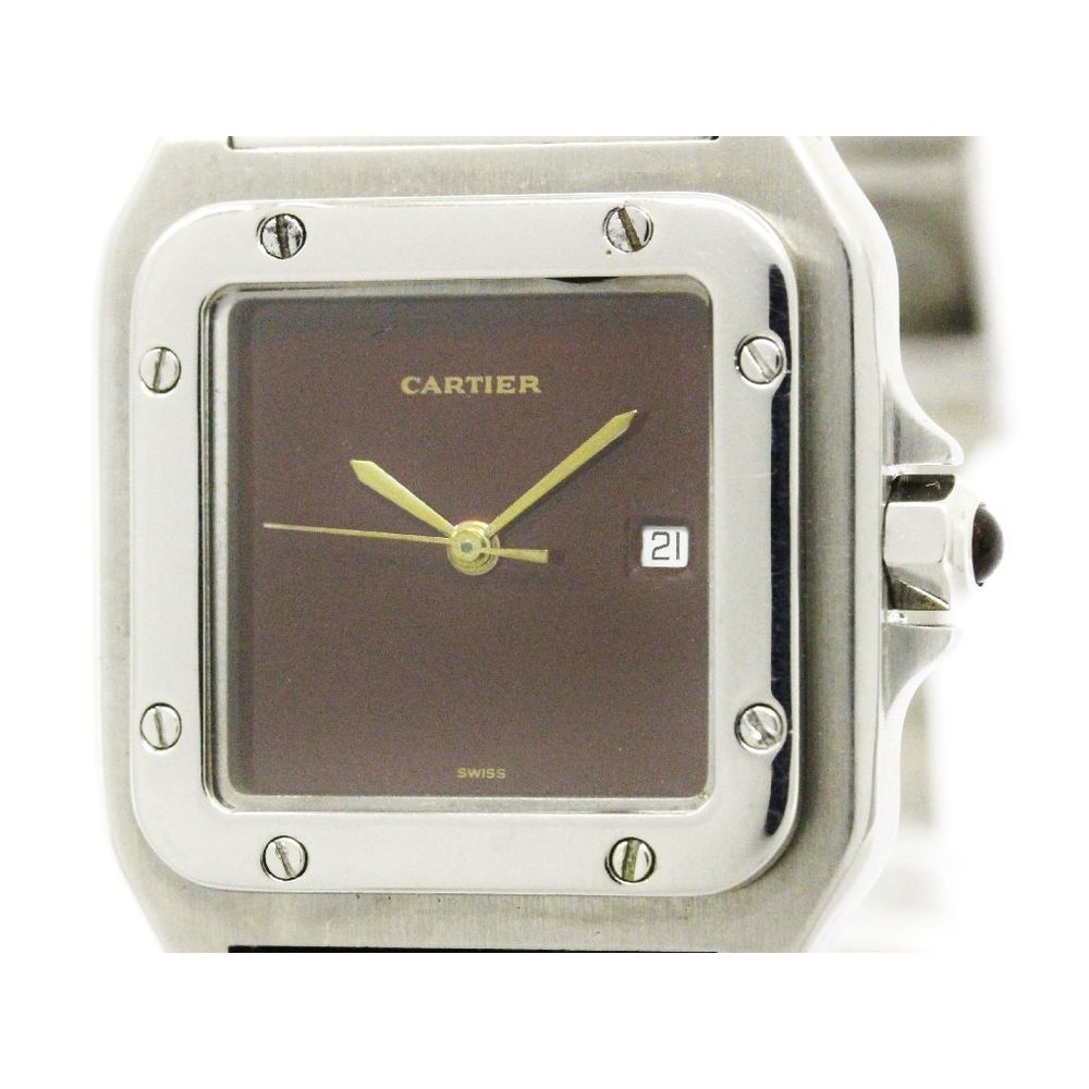 Cartier Santos Galbee Automatic Stainless Steel Men's Dress Watch