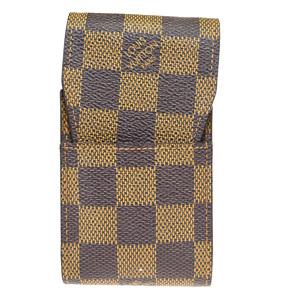 ルイ・ヴィトン(Louis Vuitton) ダミエ タバコケース エベヌ エテュイ シガレット N63024