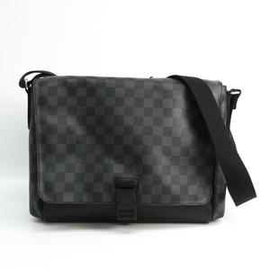 ルイ・ヴィトン(Louis Vuitton) ダミエ・グラフィット メッセンジャーMM N41458 メンズ メッセンジャーバッグ,ショルダーバッグ ダミエ・グラフィット