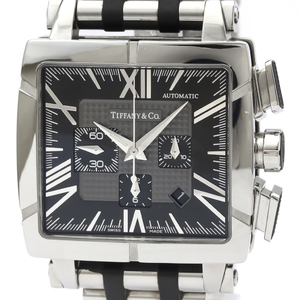 Tiffany Atlas Automatic Rubber,Stainless Steel Men's Sports Watch Z1100.82.12A10A00A