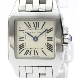 Cartier Santos Demoiselle Quartz Stainless Steel Women's Dress Watch W25064Z5