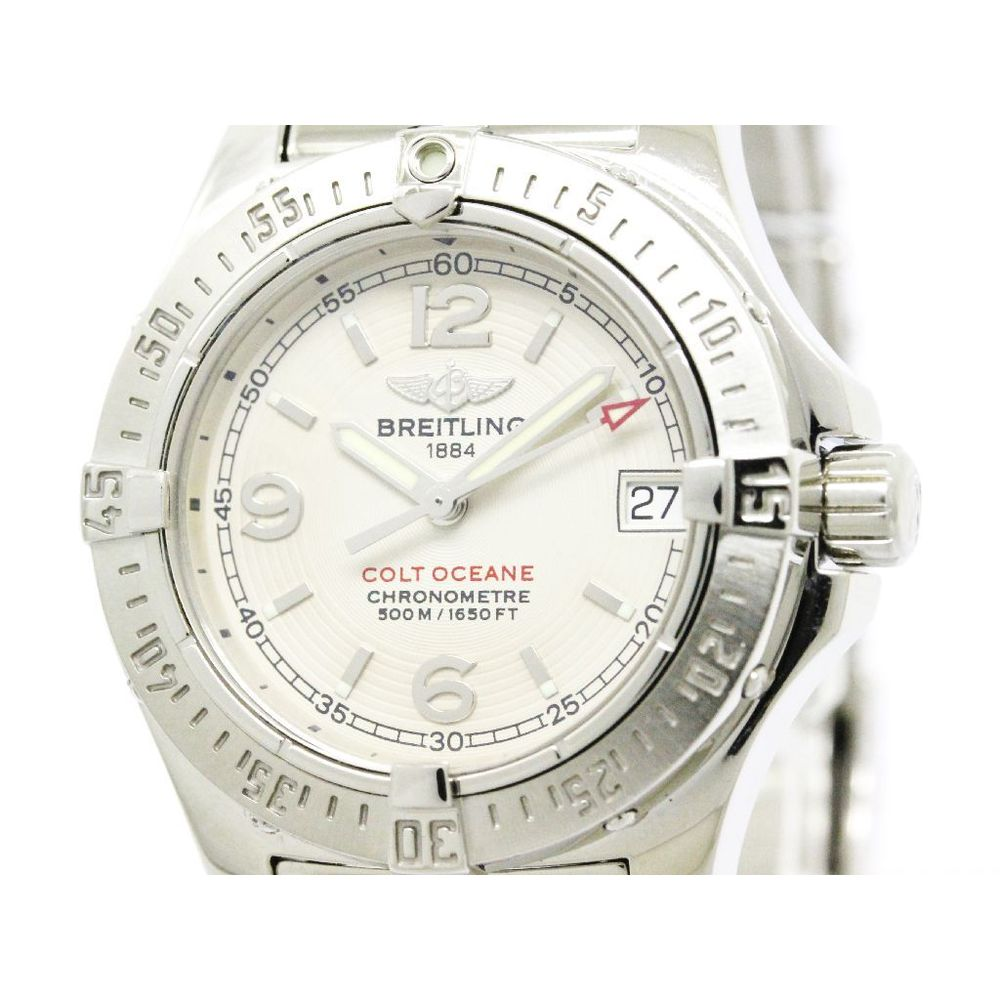 Breitling Colt Quartz Stainless Steel Women's Sports Watch A77380