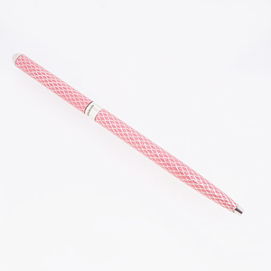 ティファニー ボールペン シルバー925 エナメル シルバー/ピンクカラー