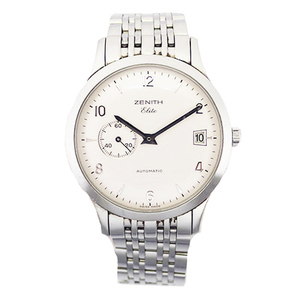 ZENITH Elite Stainless Steel Automatic Mens Watch 01/02.1125.680