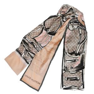 ルイ・ヴィトン(Louis Vuitton) M73965 シルク スカーフ ピンク