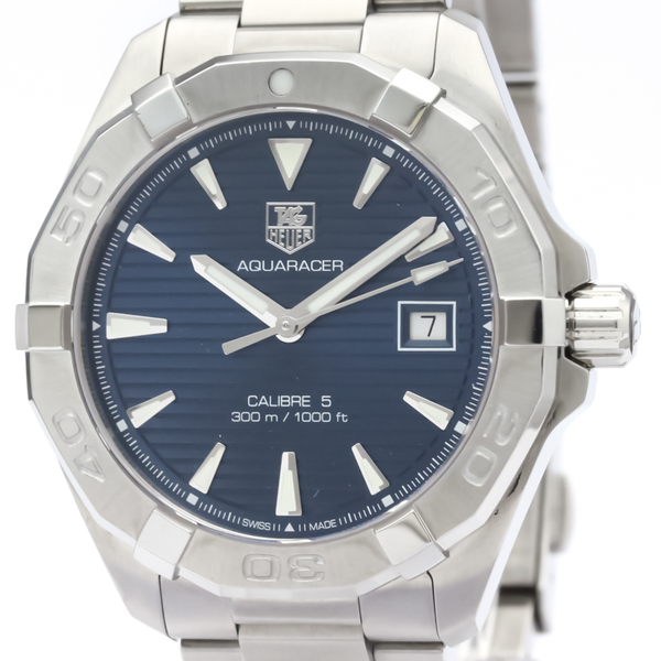 Tag Heuer Aquaracer Automatic Stainless Steel Men's Sports Watch WAY2112