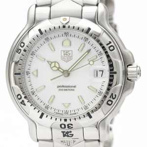 Tag Heuer 6000 Series Quartz Stainless Steel Men's Sports Watch WH1111