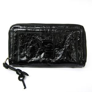 クロエ(Chloé) パディントン レディース  パテントレザー 長財布(二つ折り) ブラック