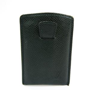 Louis Vuitton Taiga Leather Card Case Episea Etui cartes de visite tirette M30544