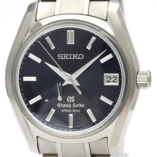 Seiko Grand Seiko Spring Drive Titanium Men's Dress Watch SBGA127(9R65-0BZ0)