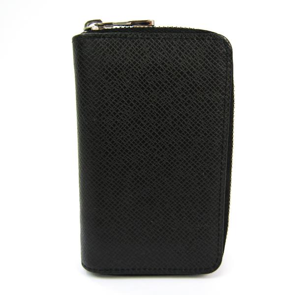 Louis Vuitton Taiga Zippy-coin-purse M30511 Men's Taiga Leather Coin Purse/coin Case Noir