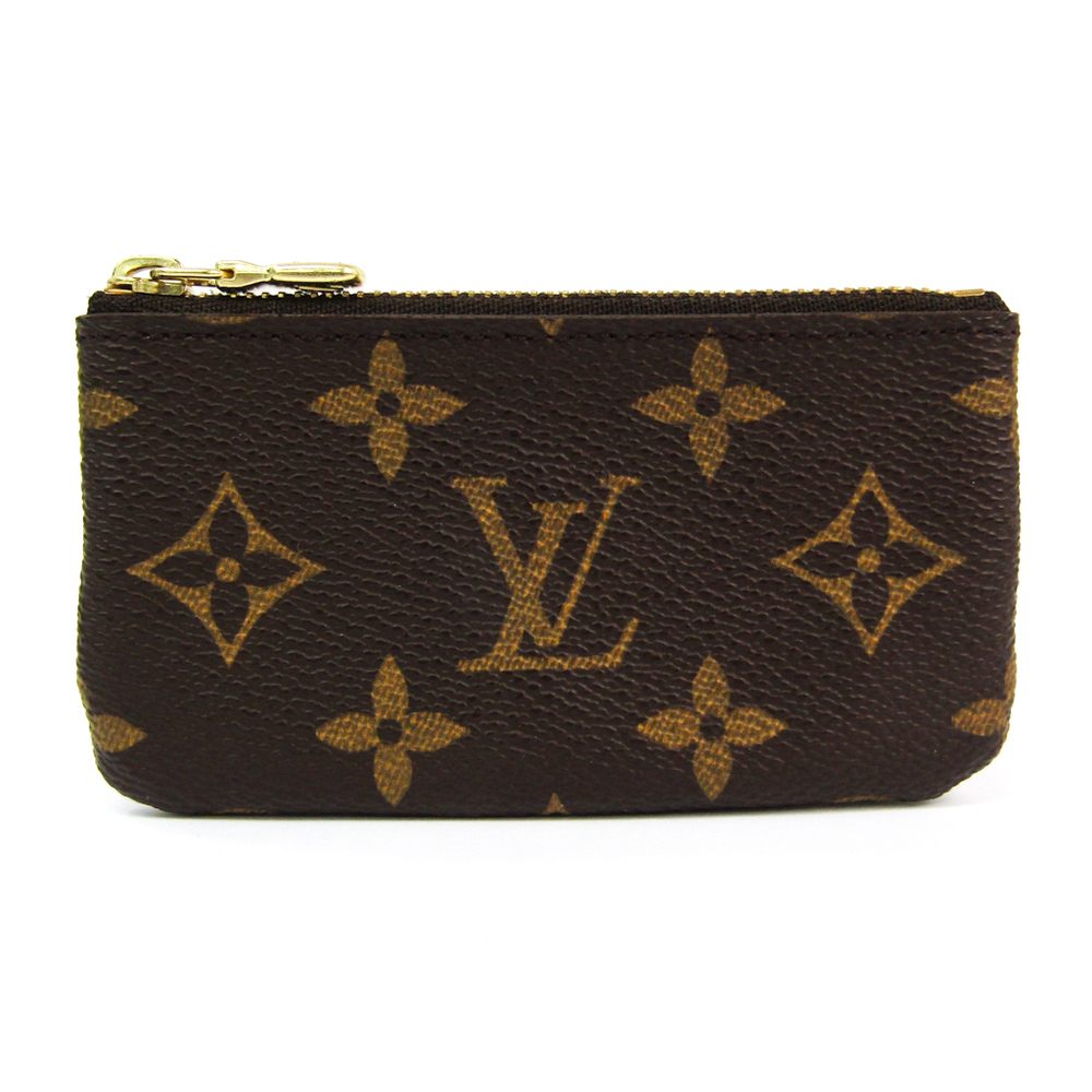 Louis Vuitton Monogram Pochette Clefs M62650 Women's Monogram Coin Purse/coin Case Monogram
