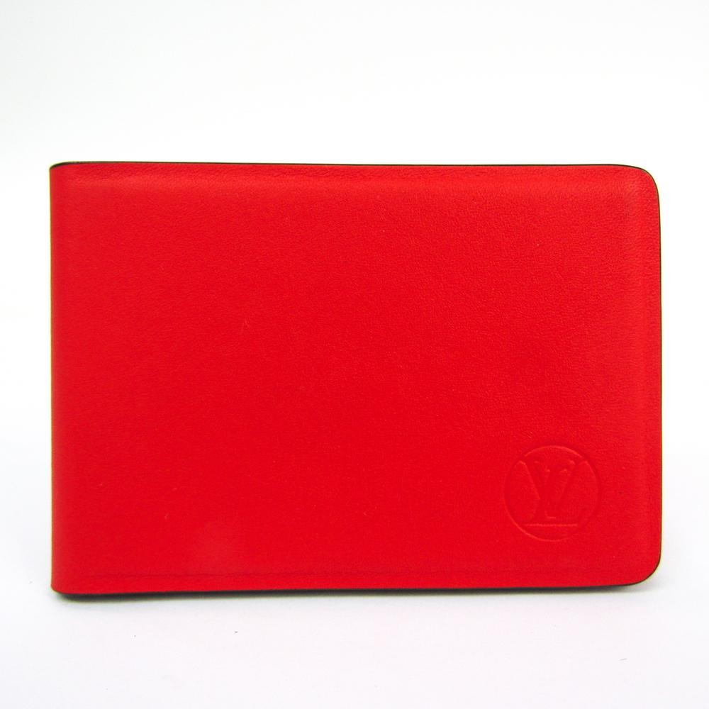 ルイ・ヴィトン(Louis Vuitton) レザー アクセサリー ルージュ ミロワール・ノマド オレリヤン GI0087