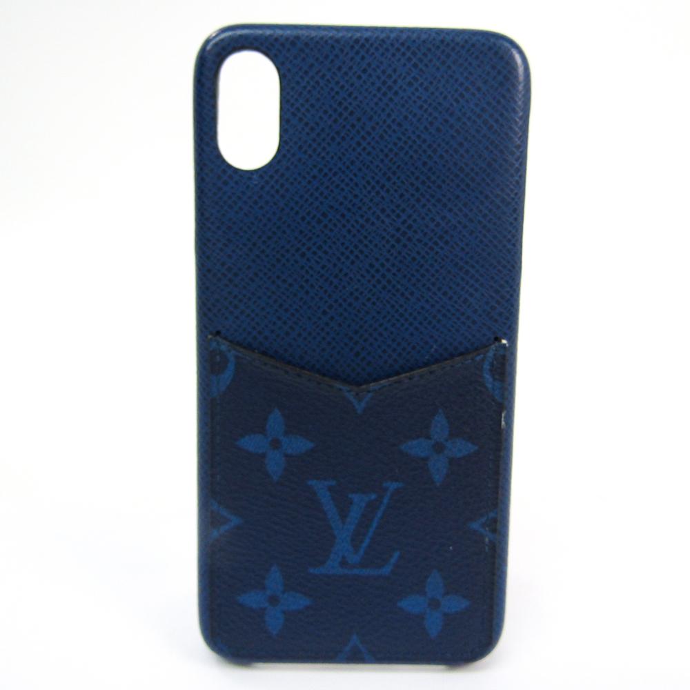 ルイ・ヴィトン(Louis Vuitton) モノグラム IPHONE・バンパー XS Max M30273 タイガ バンパー iPhone XS Max 対応 コバルト