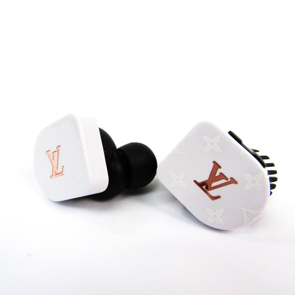 Louis Vuitton Horizon White Monogram Earphone Bluetooth QAB020
