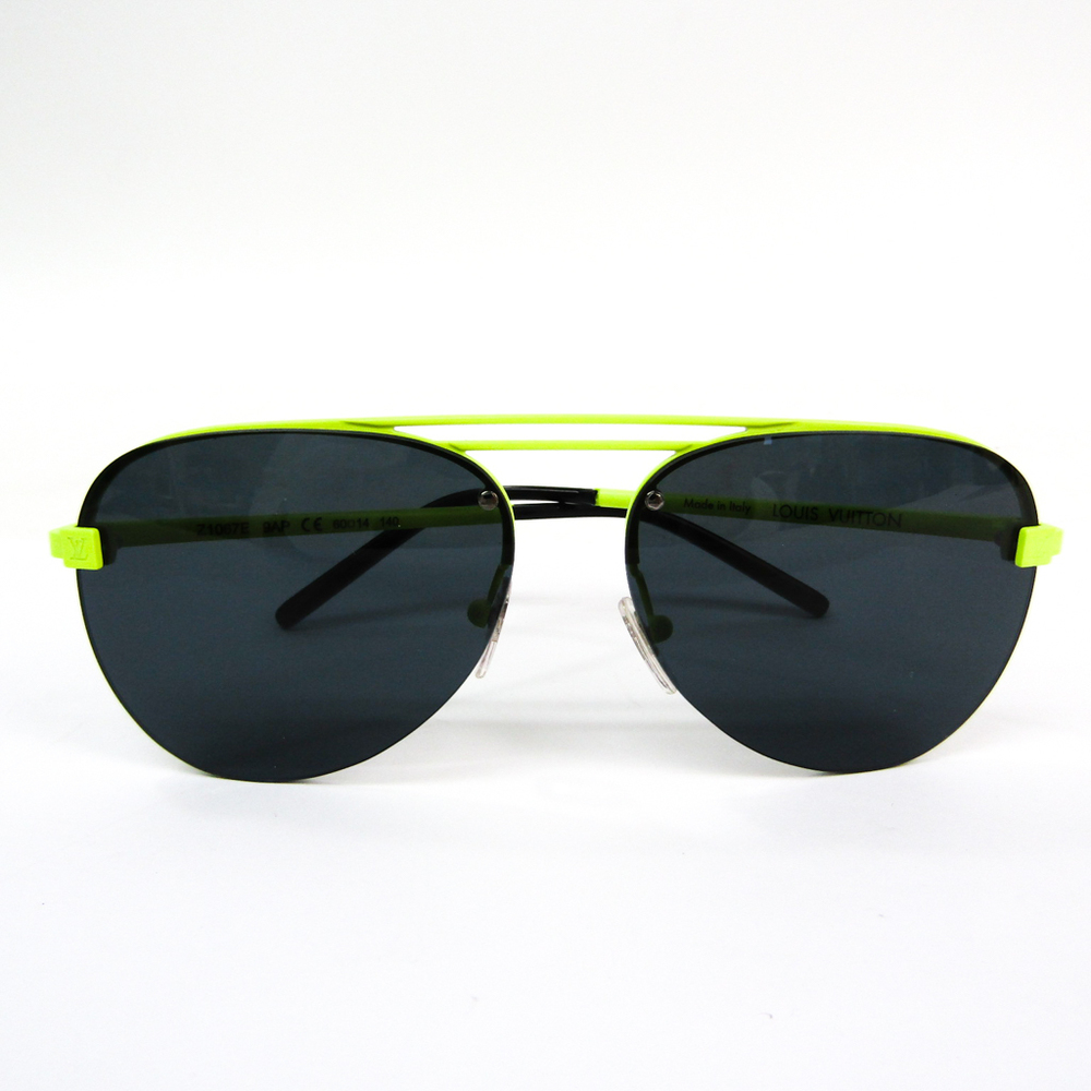 Louis Vuitton Men's Sunglasses Yellow Clockwise Z1067E