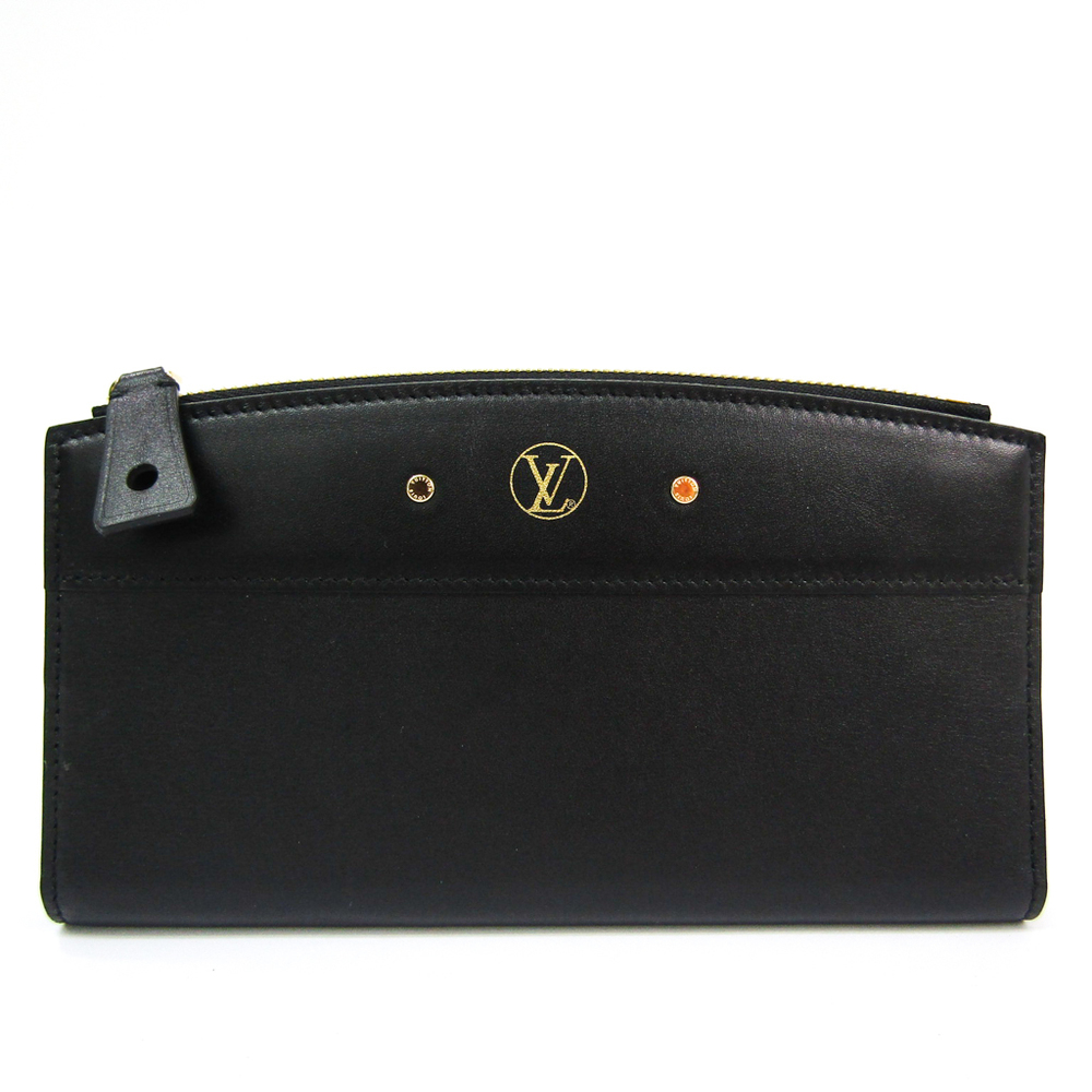 ルイ・ヴィトン(Louis Vuitton) ポルトフォイユ スティーマー レディース  カーフレザー 長財布(二つ折り) ノワール
