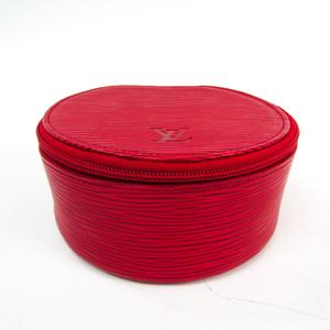 ルイ・ヴィトン(Louis Vuitton) エピ エクランビジュー12 M48207 ジュエリーケース カスティリアンレッド エピレザー
