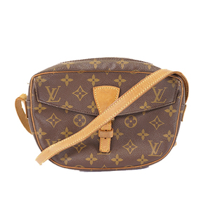 Auth Louis Vuitton Monogram M51227 Women's Shoulder Bag Brown