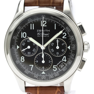 Zenith Class Automatic Stainless Steel Men's Sports Watch 01.0501.400