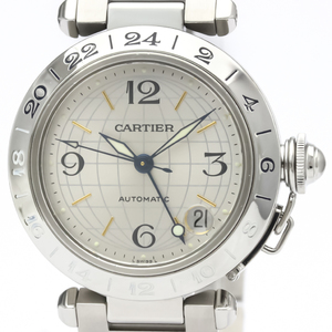 CARTIER Pasha C Meridian Steel Automatic Unisex Watch W31029M7