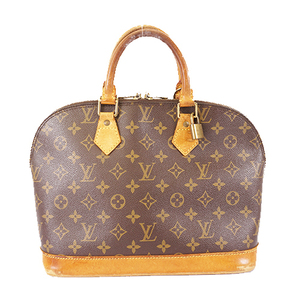 Auth Louis Vuitton Monogram Alma M51130 Women's Handbag