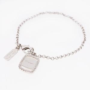 Salvatore Ferragamo Bracelet Metal Material Rhinestone