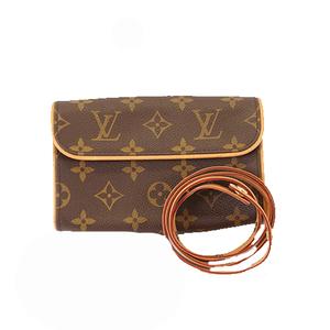 Auth Louis Vuitton Monogram Pochette Florentine M51855 Women's Fanny Pack Pouch