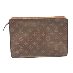 Auth Louis Vuitton Monogram Pochette Homme M51795 Men's Clutch Bag
