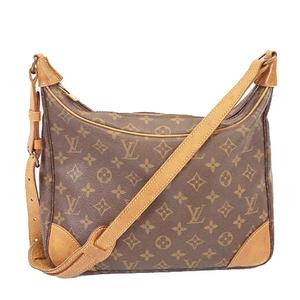 Auth Louis Vuitton Monogram M51265 Women's Shoulder Bag Brown
