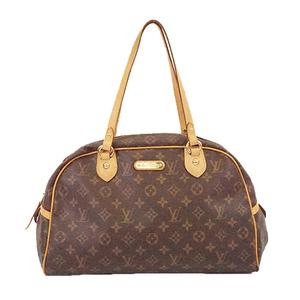 Auth Louis Vuitton Monogram Montorgueil GM M95566 Women's Boston Bag