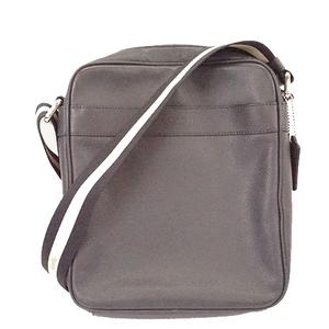 Auth Coach  Shoulderbag F54782 Men's Leather Shoulder Bag Dark Navy