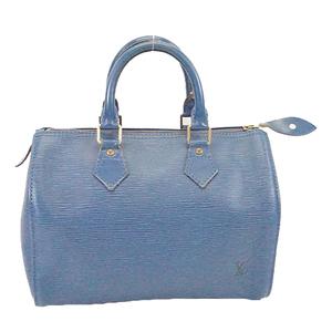 Auth Louis Vuitton Epi M43015 Women's Boston Bag,Handbag Toledo Blue