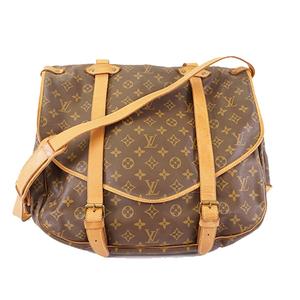 Auth Louis Vuitton Monogram Saumur 43 M42252 Women's Shoulder Bag