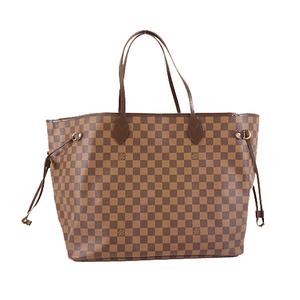 Auth Louis Vuitton Damier Neverfull GM N51106 Women's Tote Bag