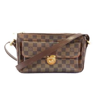 Auth Louis Vuitton Damier Ravello GM N60006 Women's Shoulder Bag