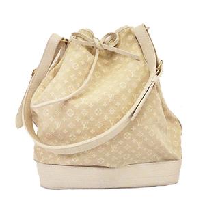 Auth Louis Vuitton Monogram Mini Lin M95315 Women's Shoulder Bag Dune