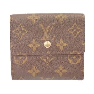 ルイヴィトン 二つ折り財布 モノグラム ポルトモネビエカルトクレディ M61652