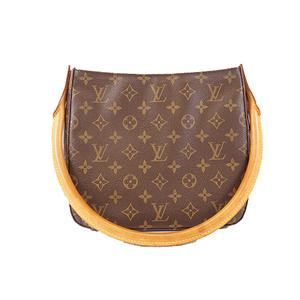 Auth Louis Vuitton Monogram LoopingMM M51146 Women's Shoulder Bag