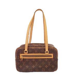 Auth Louis Vuitton Monogram Cite MM M51182 Women's Shoulder Bag