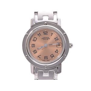 ... second hand silver storage.  833 · WISHLIST · HERMES CLIPPER PINK Dial  CL 4.210 Ladies  SS Quartz Wrist Watch A Rank beautiful goods ccd232cc12043