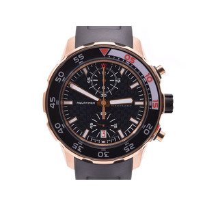 IWC Aqua Timer Chronograph Black Type IW 376905 Men's PG / Automatic Roller Watch A Rank 美 品 Galler Used Ginza