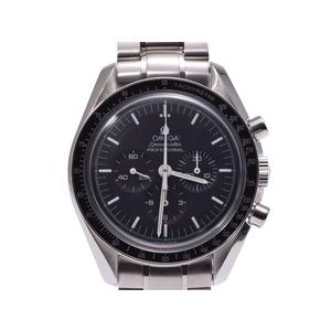 オメガ スピードマスター プロフェッショナル 黒文字盤 3570.50 メンズ SS 手巻き 腕時計 Aランク 美品 OMEGA 中古 銀蔵
