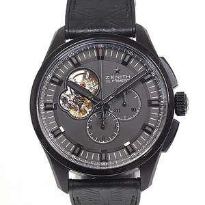 ZENITH Zenith Mens Watch El Primero Chrono Master 1969 Tribute To The Rolling Stones 96.2260.4061 1000 Limited Black Dial