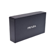 7b03c7e06c60 プラダ(Prada) プラダ ファスナー長財布 茶 2MV836 メンズ レディース ...