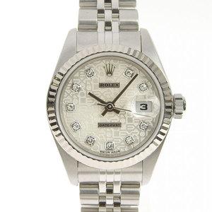 Genuine ROLEX Rolex Datejust Ladies Automatic watch 79174 G P series Bokin