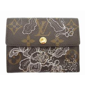 Louis Vuitton Monogram Dantier Ludlow M95392 Card Case Brown 0213 LOUIS VUITTON Women's